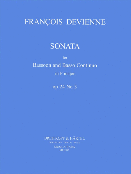 Sonate in F op. 24 Nr. 3