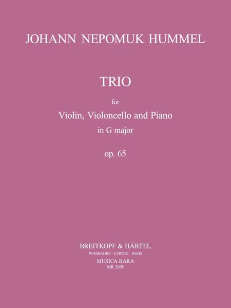 Klaviertrio G-dur op. 65