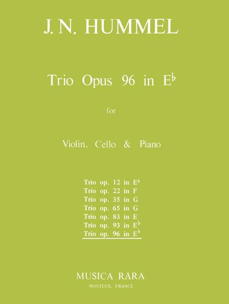 Klaviertrio Es-dur op. 96
