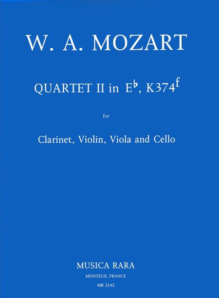 Quartett Nr. 2 Es nach KV 374f