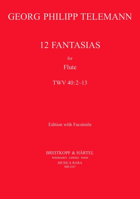 12 Fantasien (mit Faksimile)