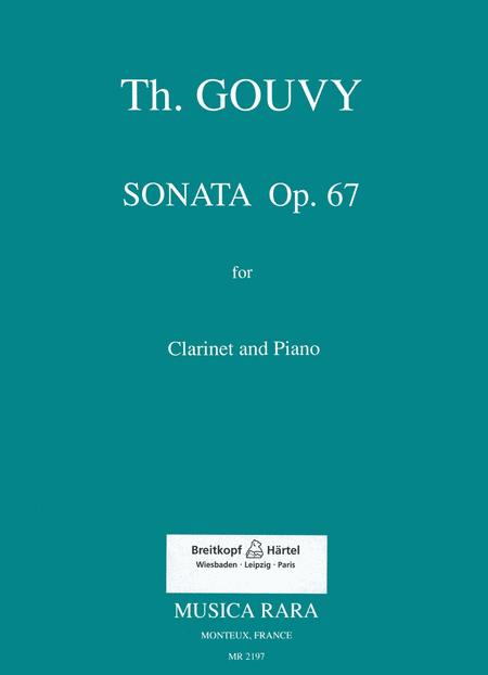 Sonate in g op. 67
