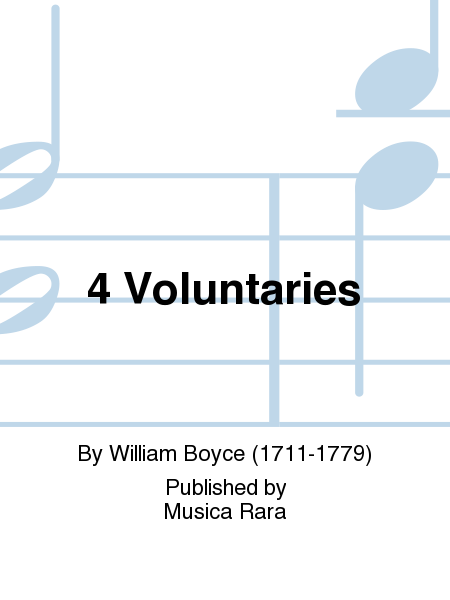 4 Voluntaries