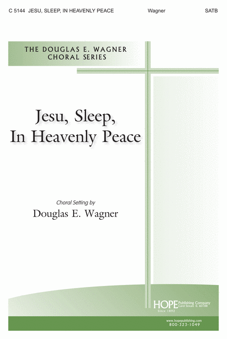 Jesu, Sleep, in Heavenly Peace