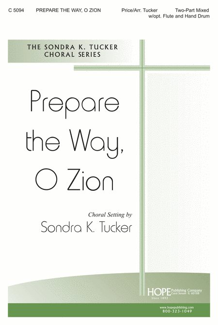 Prepare the Way, O Zion