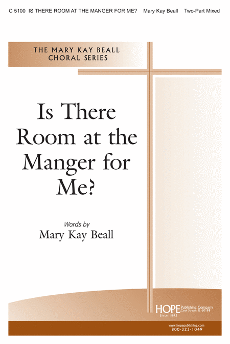 Is There Room at the Manger for Me?