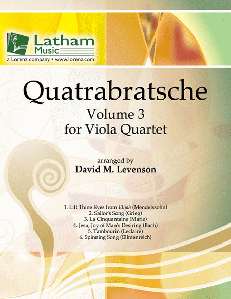 Quatrabratsche: Volume 3 for Viola Quartet