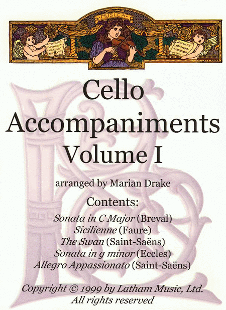 Cello Accompaniments: Volume 1