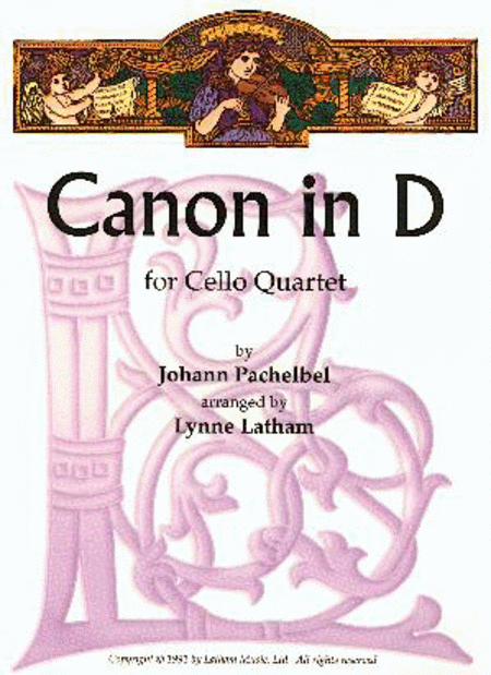Canon in D for Cello Quartet