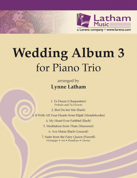 Wedding Album 3 for Piano Trio