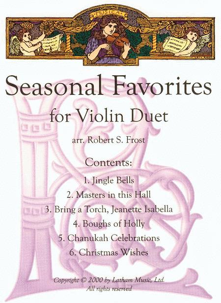 Seasonal Favorites for Violin Duet