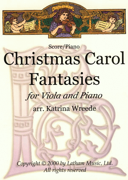 Christmas Carol Fantasies - Viola