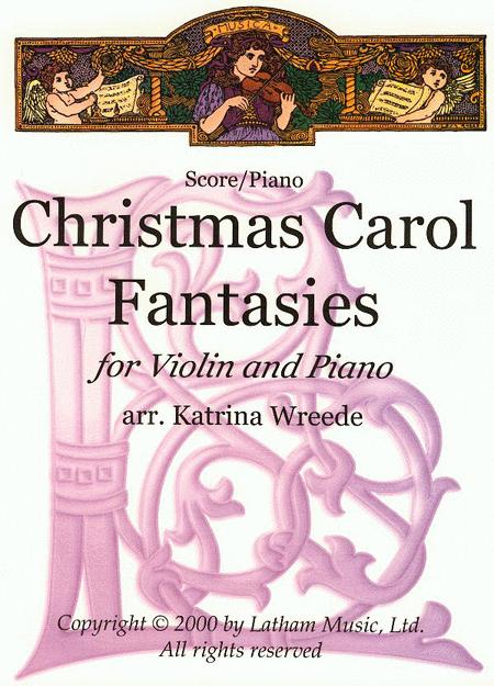 Christmas Carol Fantasies - Violin