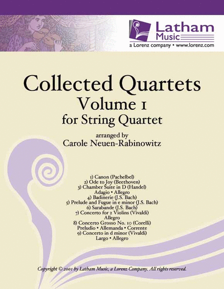 Collected Quartets Volume  1 for String Quartet