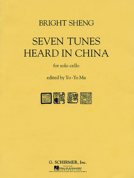 Seven Tunes Heard In China - Cello