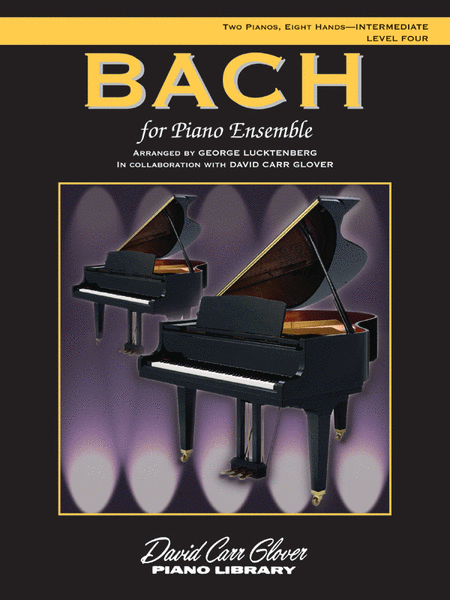 Bach for Piano Ensemble
