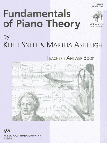 Fundamentals Of Piano Theory, Level 1 - Answer Book