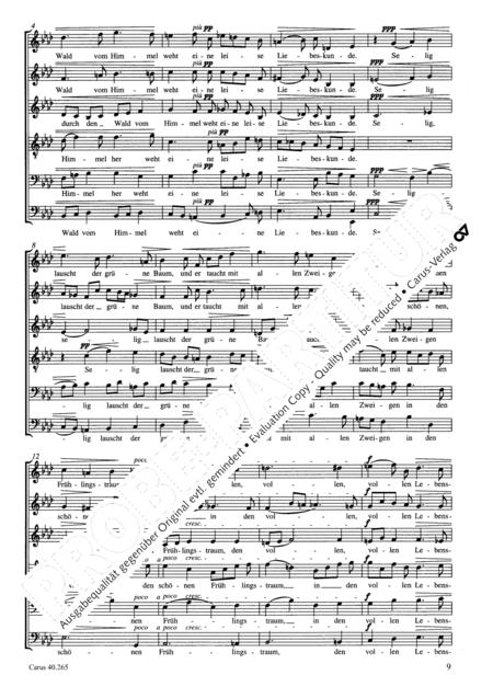 Drei Chore op. 39