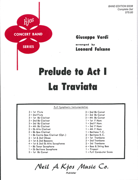 La Traviata (Prelude to Act I)