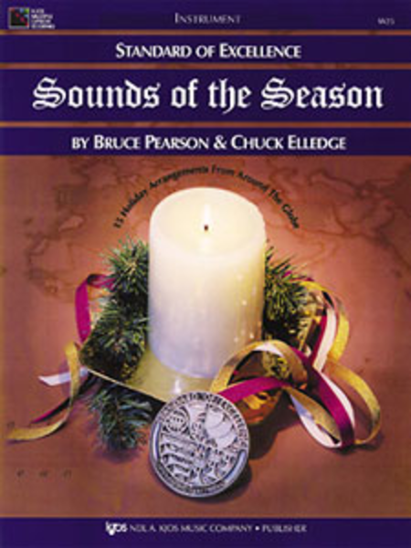 Standard of Excellence: Sounds of the Season-Alto Saxophone/Baritone Saxophone