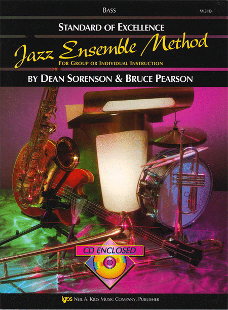 Standard of Excellence Jazz Ensemble Book 1, Bass