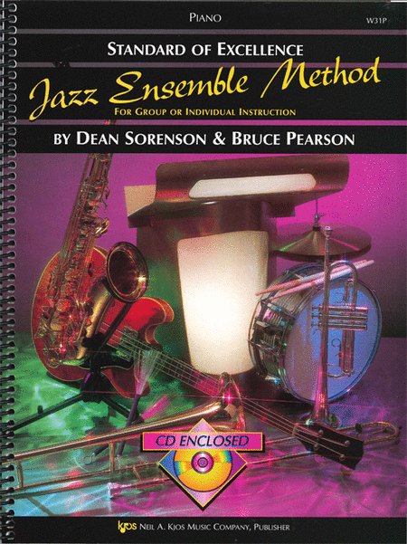 Standard of Excellence Jazz Ensemble Book 1, Piano