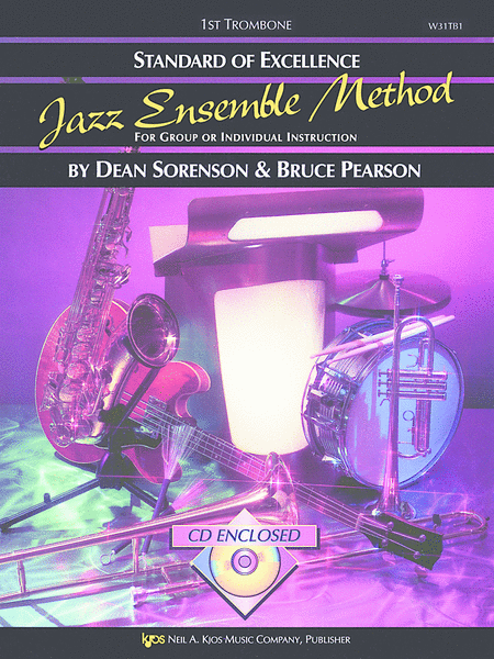 Standard of Excellence Jazz Ensemble Book 1, 1st Trombone