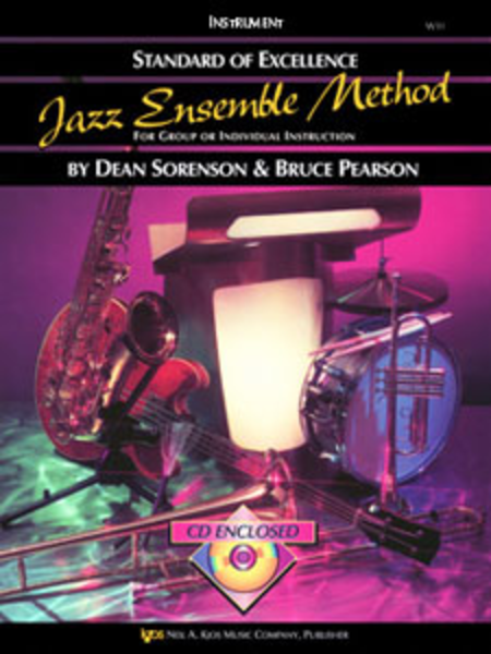 Standard of Excellence Jazz Ensemble Book 1, 4th Trombone