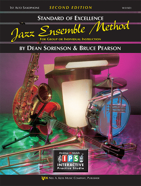 Standard of Excellence Jazz Ensemble Book 1, 1st Alto Sax