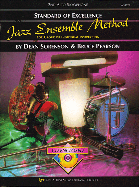 Standard of Excellence Jazz Ensemble Book 1, 2nd Alto Sax