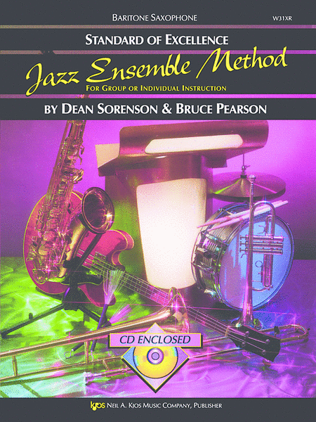 Standard of Excellence Jazz Ensemble Book 1, Baritone Sax
