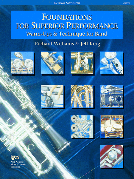 Foundations For Superior Performance, Tenor Saxophone