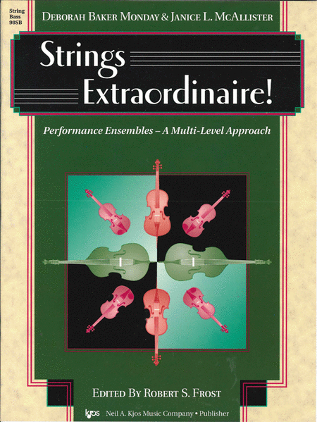 Strings Extraordinaire - String Bass