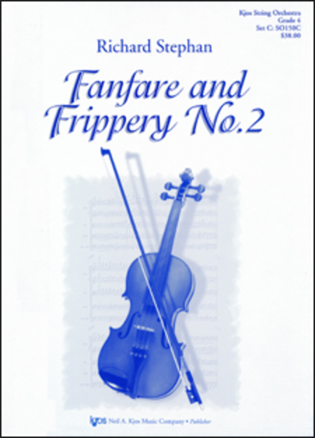 Fanfare and Frippery No. 2