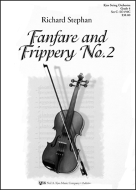 Fanfare And Frippery No.2-Score