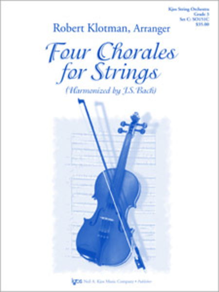 Four Chorales For Strings