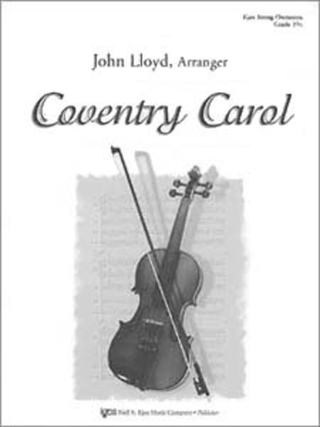 Coventry Carol-Score