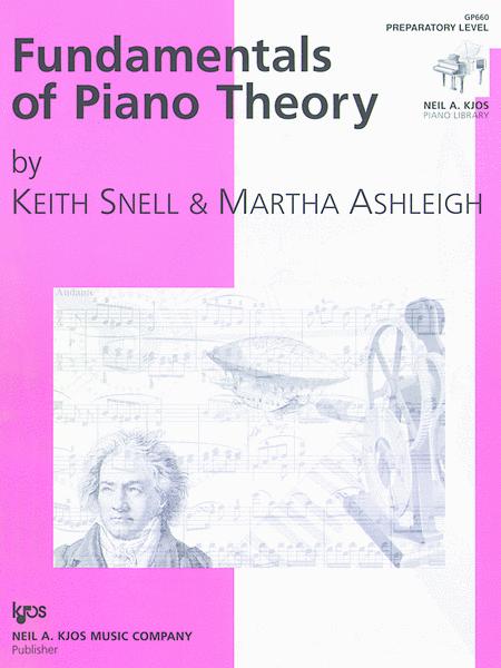 Fundamentals of Piano Theory - Preparatory Level