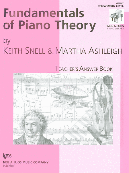 Fundamentals Of Piano Theory, Prep-Answer Book