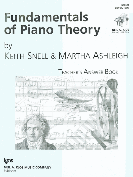Fundamentals Of Piano Theory, Level 2 - Answer Book
