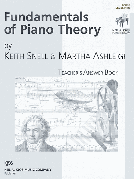 Fundamentals Of Piano Theory, Level 5 - Answer Book