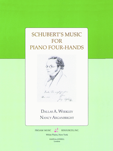 Schubert's Music For Piano Four Hands