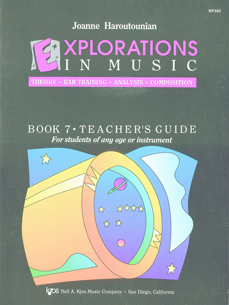 Explorations in Music Teacher's Book 7