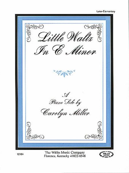 Little Waltz in E Minor
