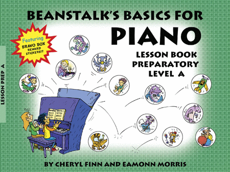 Beanstalk's Basics for Piano - Lesson Book, Prep Level A