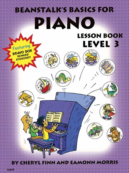 Beanstalk's Basics for Piano - Lesson Book 3