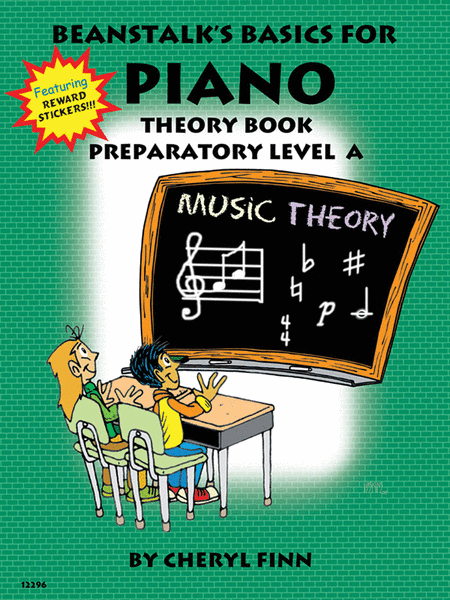 Beanstalk's Basics for Piano - Theory Book, Prep Level A