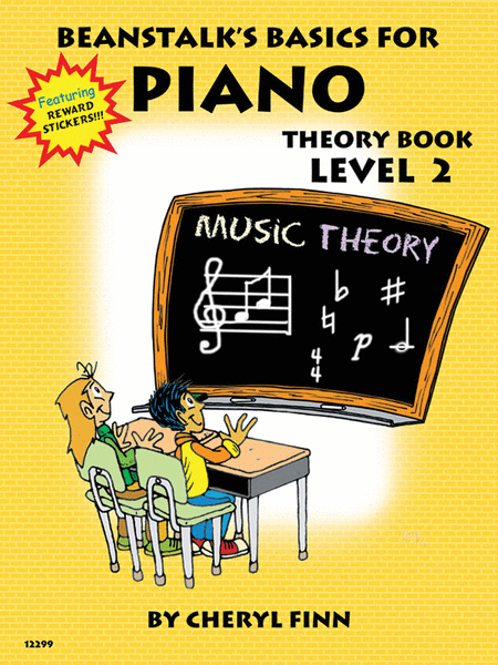 Beanstalk's Basics for Piano - Theory Book 2