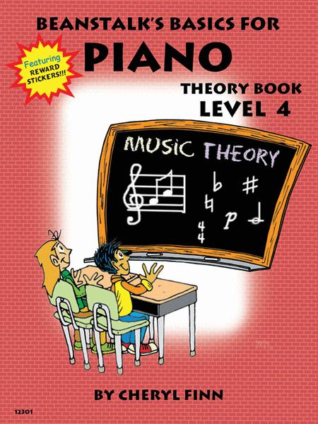 Beanstalk's Basics for Piano - Theory Book 4
