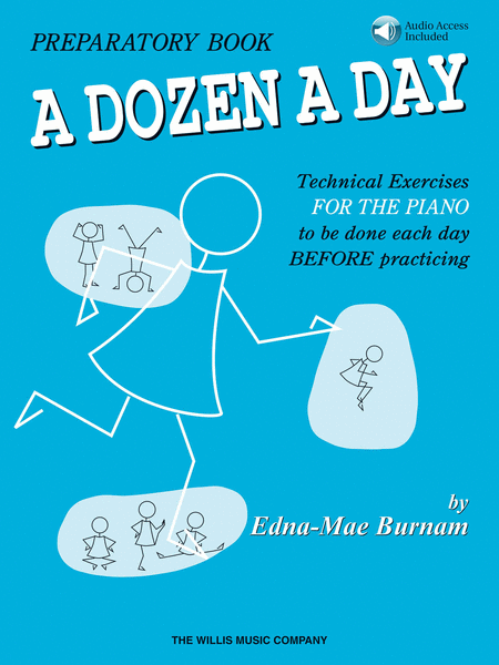 A Dozen A Day - Preparatory Book (Book/CD)